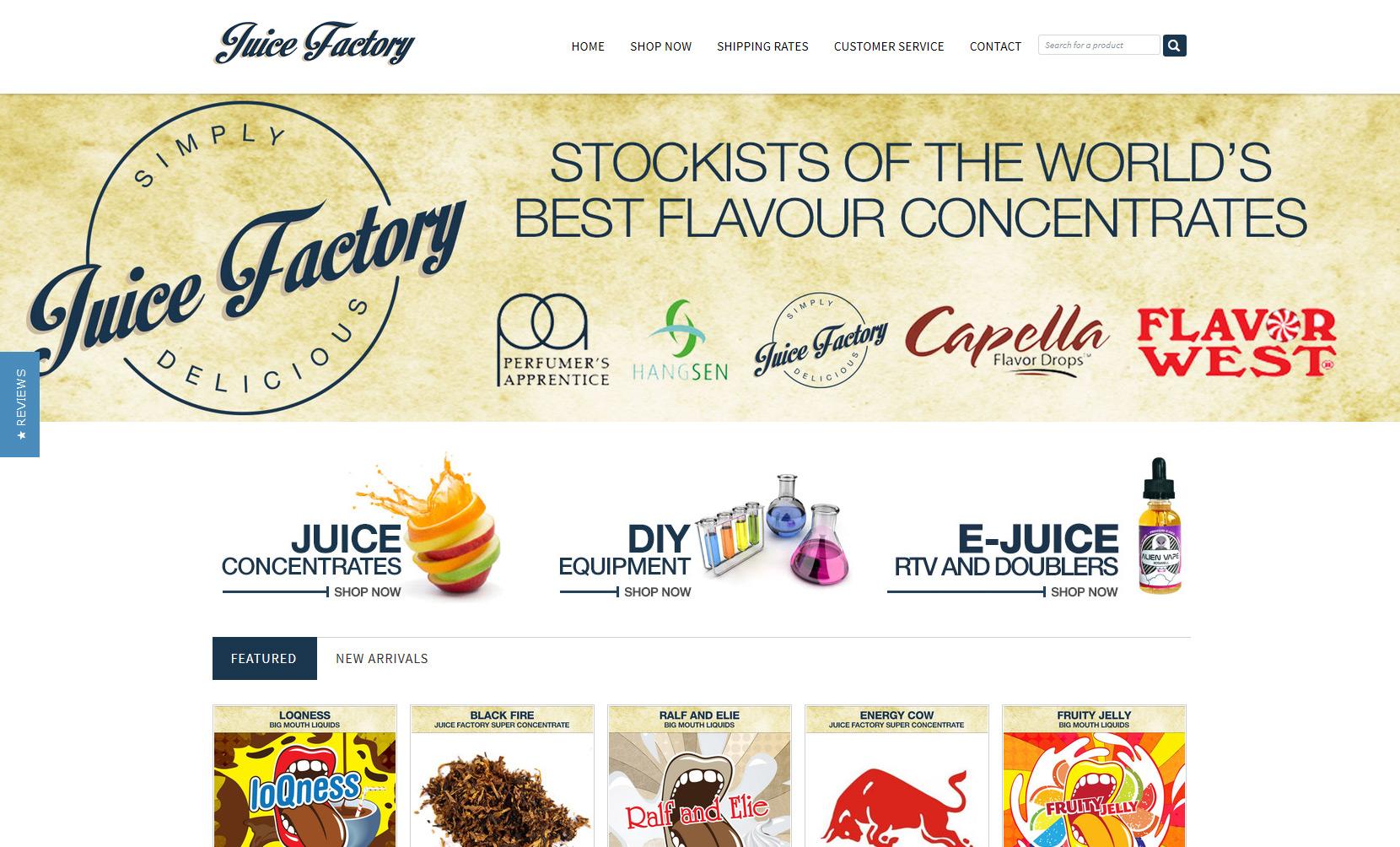 VaporFi Australia - Best Places to Buy E-Liquid: Juice Factory